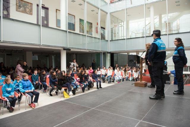 266 alumnos de primaria participan en el VII Festival de Educación Vial, Foto 1