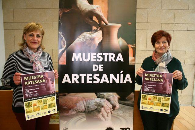 La II Muestra Artesana de Totana se celebra los días 18 y 19 de marzo
