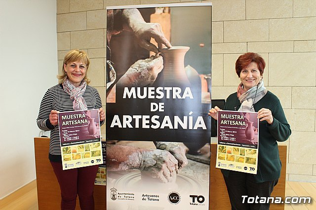 The Second Artisan Exhibit of Totana is celebrated on March 18 and 19, in the Plaza de la Balsa Vieja