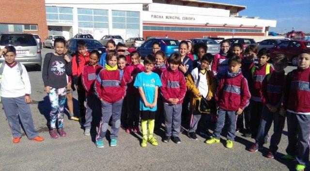 Un total de 22 escolares de Totana participaron en la Final Regional de Campo a Través benjamín y alevín de Deporte Escolar