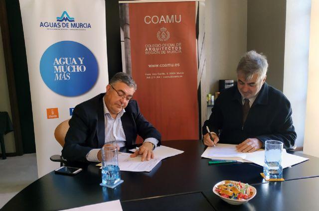 El Colegio de Arquitectos convoca un concurso de ideas para proyectar la construcción del nuevo edificio de Aguas de Murcia, Foto 2