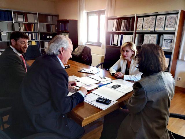 La Alcaldesa de Molina de Segura se reúne con la responsable de obras del Ministerio de Justicia para avanzar en la construcción prioritaria de una nueva sede para el Palacio de Justicia - 2, Foto 2
