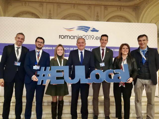 La Comunidad defiende los fondos europeos de cohesión y la consecución del desarrollo sostenible en un foro celebrado en Bucarest, Foto 1