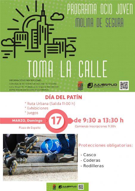 La Concejalía de Juventud de Molina de Segura organiza el Día del Patín 2019 el domingo 17 de marzo - 1, Foto 1