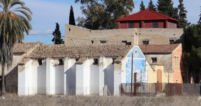 Huermur denuncia el alarmante estado de la Ermita de la Eaz en Alcantarilla - 2, Foto 2