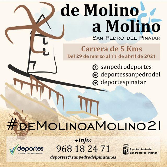 La concejalía de Deportes pone en marcha la I Carrera Virtual de Molino a Molino - 1, Foto 1