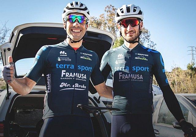Primer pódium de la temporada para Jun Carlos Gandía García, del Terra Sport Cycling Team