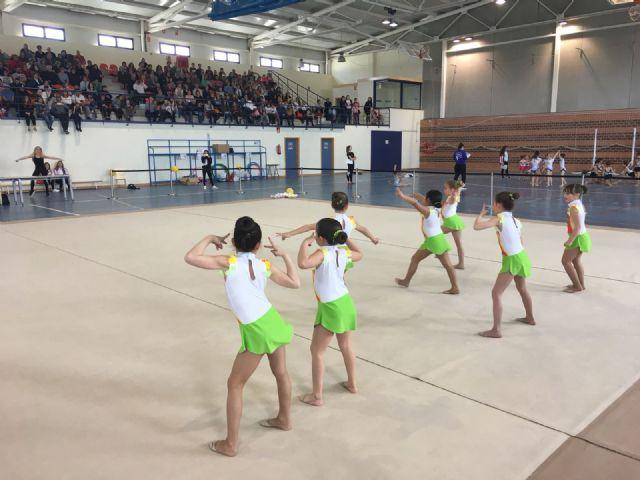 Las benjaminas lumbrerenses de gimnasia rítmica, primeras LIGA1 por equipos - 2, Foto 2