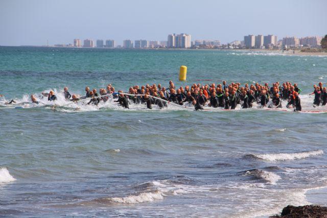 Arturo Galián Nicolás y Sonia Gómez Heredia campeones del X Triatlón Sprint Marina de Las Salinas, Foto 1
