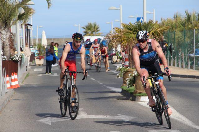 Arturo Galián Nicolás y Sonia Gómez Heredia campeones del X Triatlón Sprint Marina de Las Salinas, Foto 2