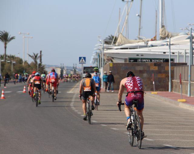 Arturo Galián Nicolás y Sonia Gómez Heredia campeones del X Triatlón Sprint Marina de Las Salinas, Foto 3