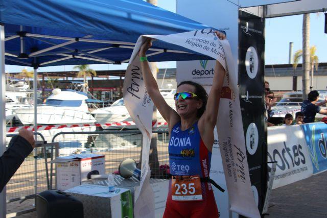 Arturo Galián Nicolás y Sonia Gómez Heredia campeones del X Triatlón Sprint Marina de Las Salinas, Foto 7