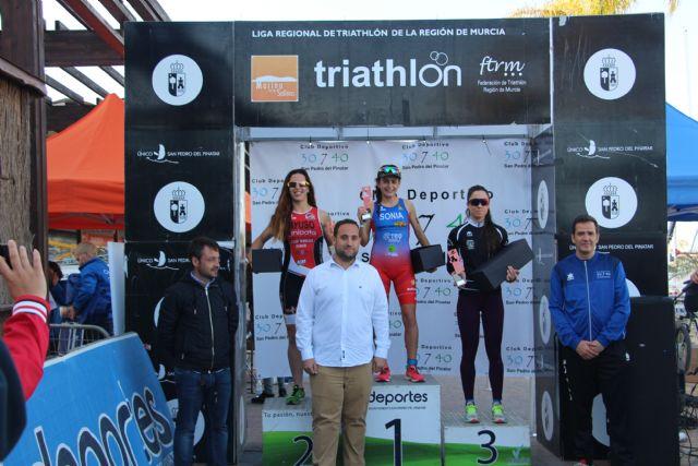Arturo Galián Nicolás y Sonia Gómez Heredia campeones del X Triatlón Sprint Marina de Las Salinas, Foto 8