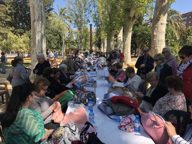 El Jardín de la Pólvora acoge el XVII Encuentro Nacional de Encajeras con más de 500 participantes - 3, Foto 3