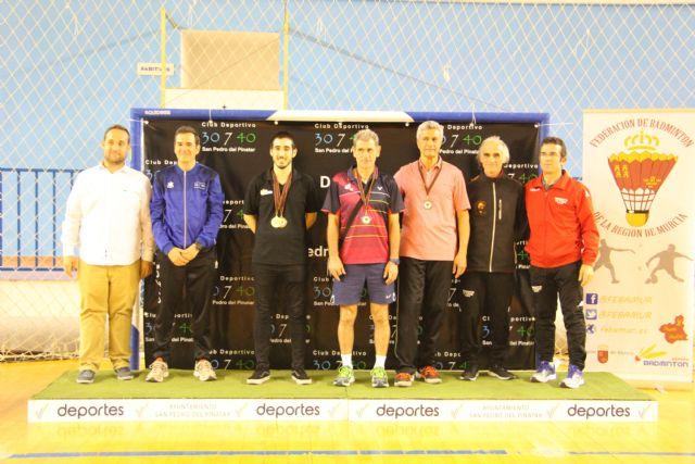 San Pedro del Pinatar acogió el  Campeonato Regional de Bádminton - 1, Foto 1