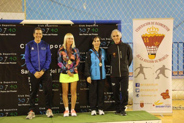 San Pedro del Pinatar acogió el  Campeonato Regional de Bádminton - 2, Foto 2