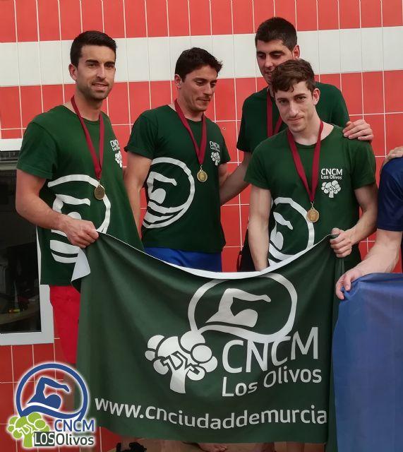 El Club Natación Ciudad de Murcia Los Olivos se proclama Subcampeón en el 2° Campeonato Autonómico Open Máster de Natación Región de Murcia - 3, Foto 3