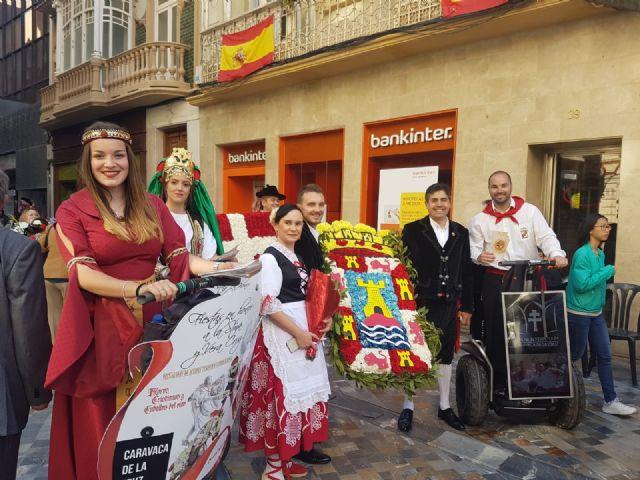 Las fiestas patronales de Caravaca se promocionan en las principales ciudades de la Región y provincias limítrofes - 1, Foto 1