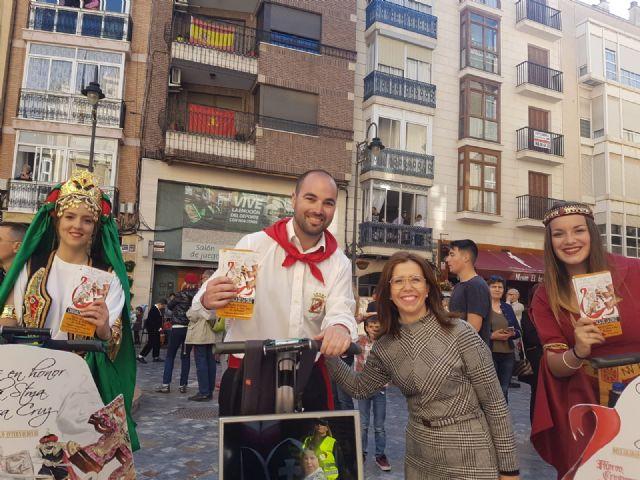 Las fiestas patronales de Caravaca se promocionan en las principales ciudades de la Región y provincias limítrofes - 2, Foto 2