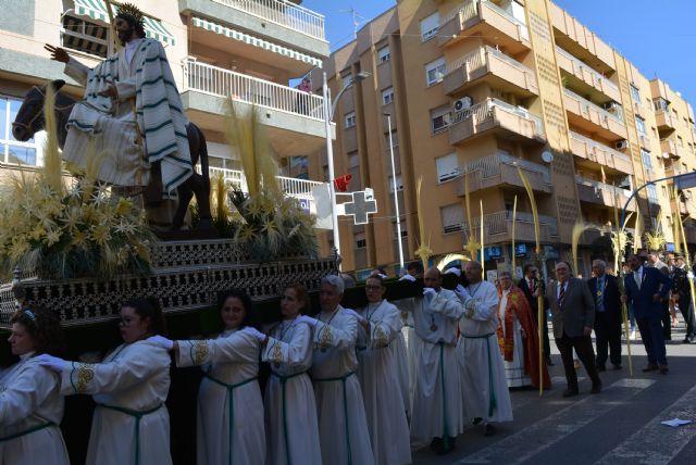 La procesión de las Palmas recorre las calles de Águilas - 2019 - 1, Foto 1