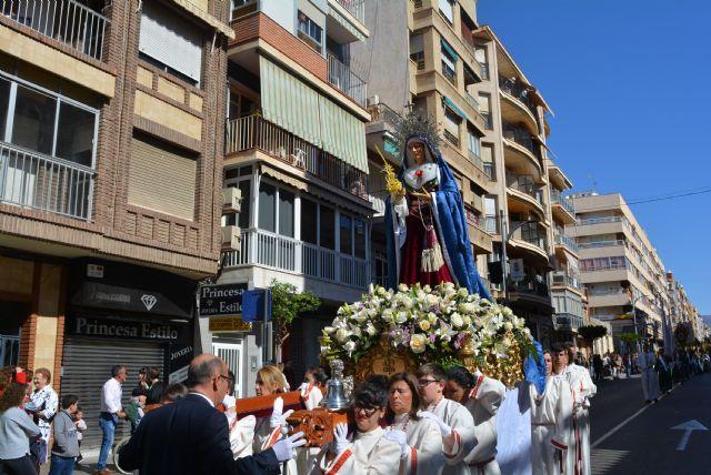 La procesión de las Palmas recorre las calles de Águilas - 2019 - 2, Foto 2