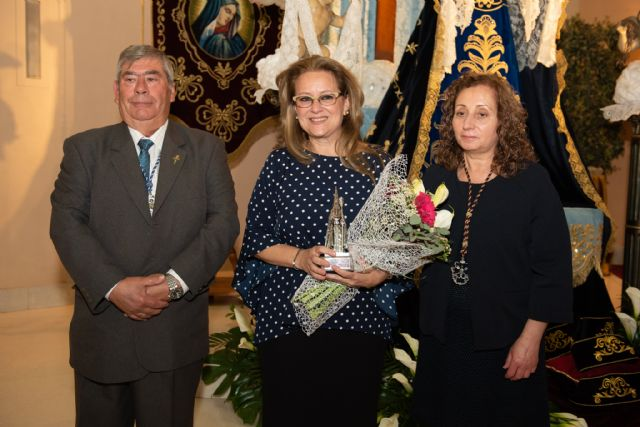 Conchi Aparicio Bernabé pregonó el pasado Viernes de Dolores la Semana Santa de Puerto de Mazarrón, Foto 2