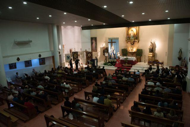 Conchi Aparicio Bernabé pregonó el pasado Viernes de Dolores la Semana Santa de Puerto de Mazarrón, Foto 4