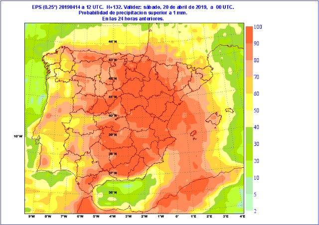 Incertidumbre en la previsión meteorológica para los días grandes de la Semana Santa, Foto 3
