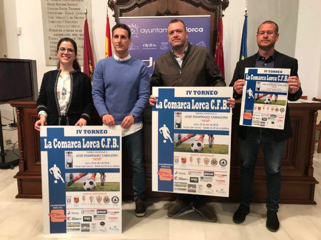 Ocho equipos disputarán el IV Torneo La Comarca Lorca C.F.B que servirá de homenaje póstumo a uno de los fundadores del Club, José Rodríguez Cabaleiro Sesé - 1, Foto 1