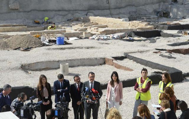 El concurso de San Esteban compatibiliza la musealización del yacimiento con la recuperación de la plaza pública - 1, Foto 1