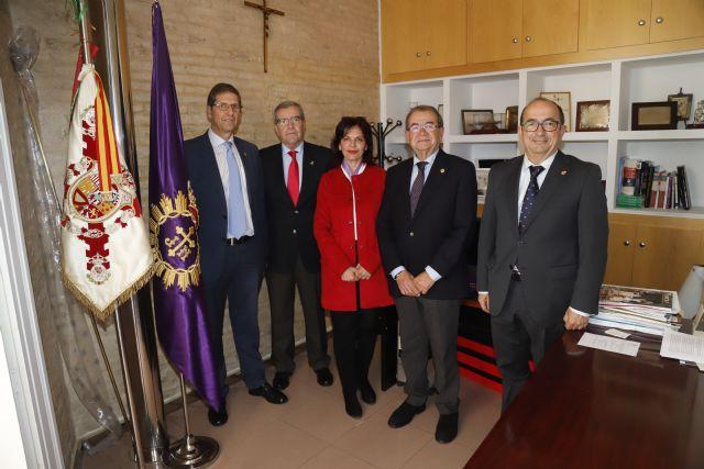 La Junta de Cofradías de Semana Santa de Cartagena y Sonora Producciones firman un convenio de colaboración - 1, Foto 1