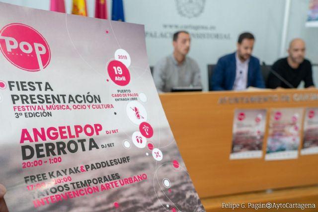 Cabo Pop presenta su tercera edición con actividades y conciertos este Viernes Santo en el Puerto de Cabo de Palos - 1, Foto 1