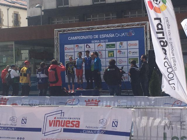 Grandes resultados para los murcianos en el Campeonato de España de Duatlón, Foto 1