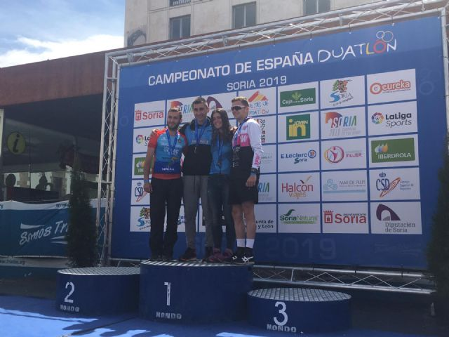 Grandes resultados para los murcianos en el Campeonato de España de Duatlón, Foto 3
