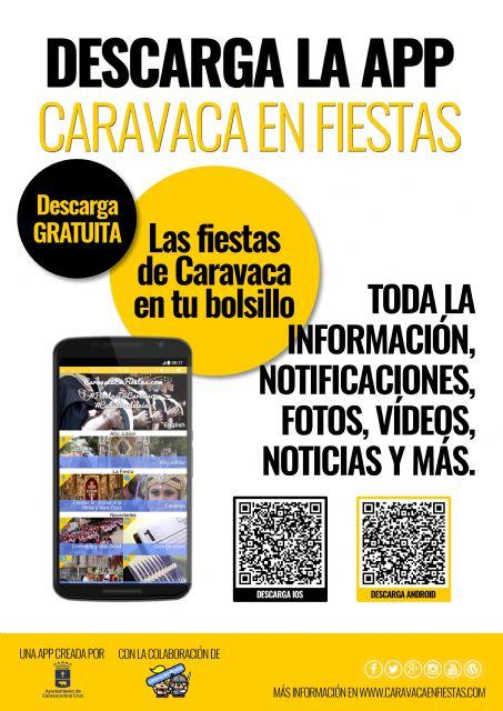 Disponible para su descarga gratuita la APP 'Caravaca en Fiestas' con información actualizada y notificaciones - 1, Foto 1