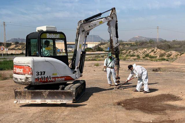 Ercros inicia el vallado perimetral de los terrenos de El Hondón - 1, Foto 1