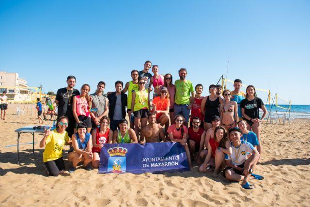 La liga de vóley playa regresa a Mazarrón  con un centenar de participantes - 1, Foto 1