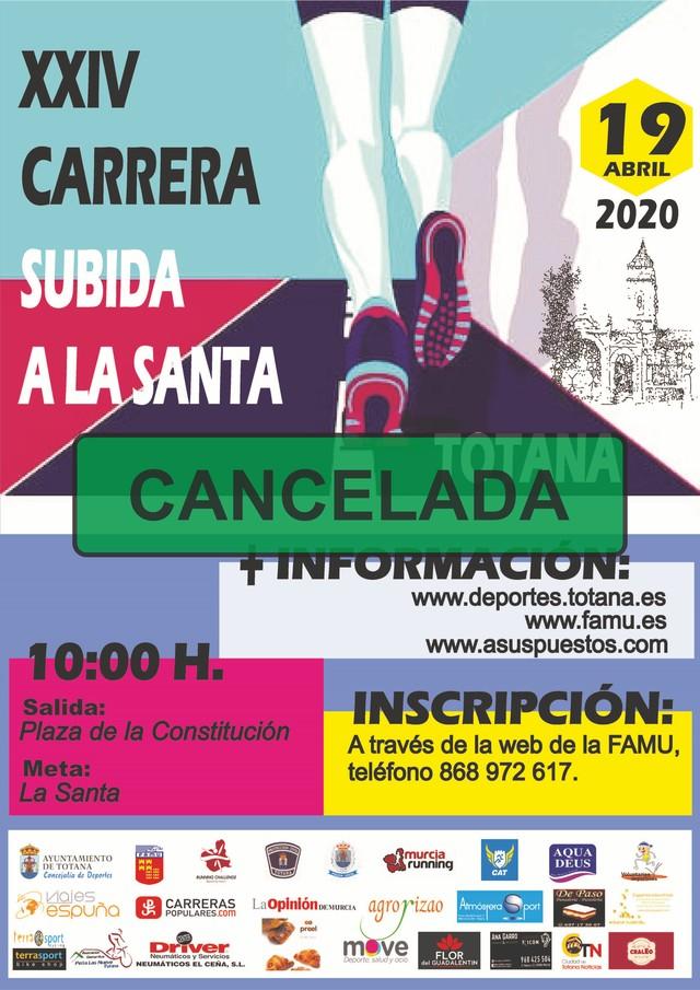 The Department of Sports cancels the XXIV Climb to La Santa