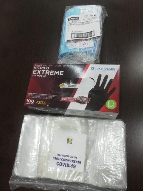 El Ayuntamiento repartirá mascarillas y guantes a todas las viviendas de Alhama, Foto 1