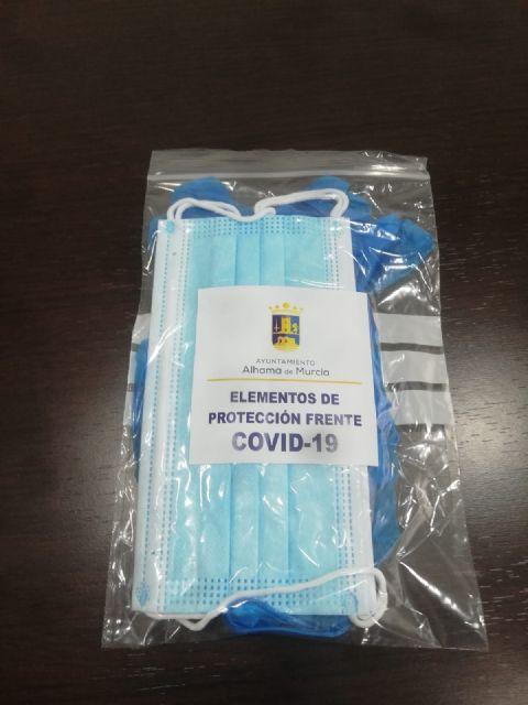El Ayuntamiento repartirá mascarillas y guantes a todas las viviendas de Alhama, Foto 2