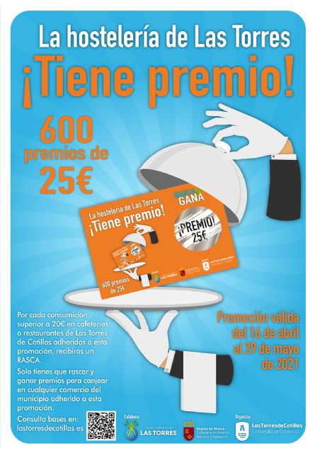 La campaña La hostelería de Las Torres tiene premio impulsa el sector con 15.000 euros en premios entre sus clientes - 1, Foto 1