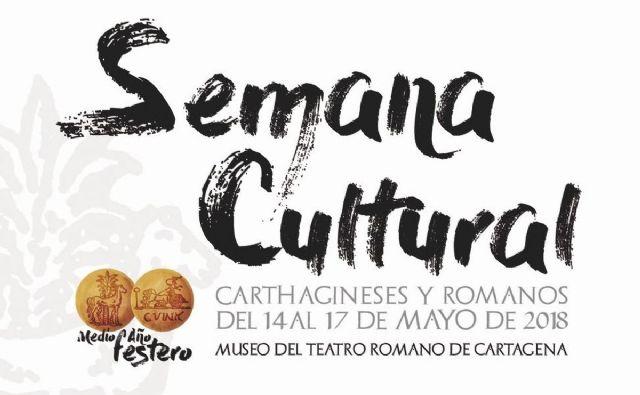Comienza el ciclo de conferencias de la Semana Cultural de Carthagineses y Romanos - 1, Foto 1