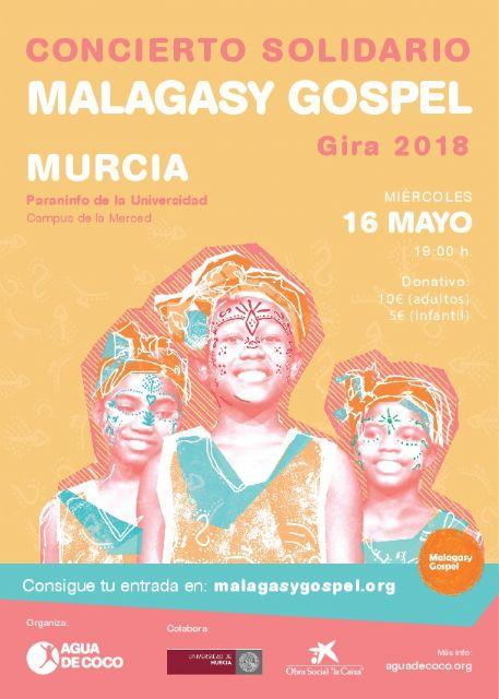 Voces de niñas de Madagascar sonarán en la Universidad de Murcia para ayudar en un proyecto solidario - 1, Foto 1