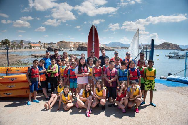 700 alumnos se introducen en los deportes náuticos gracias al Proyecto Driza impulsado por el Ayuntamiento, Foto 1