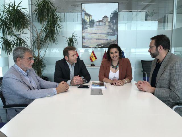 El Alcalde y la Concejala de Servicios Sociales se reúnen con el Director Gerente del Servicio Murciano de Salud y el Director Gerente del Área VIII Mar Menor - 3, Foto 3