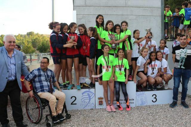 El atletismo escolar de Alhama suma varias medallas en la final regional por equipos, Foto 3
