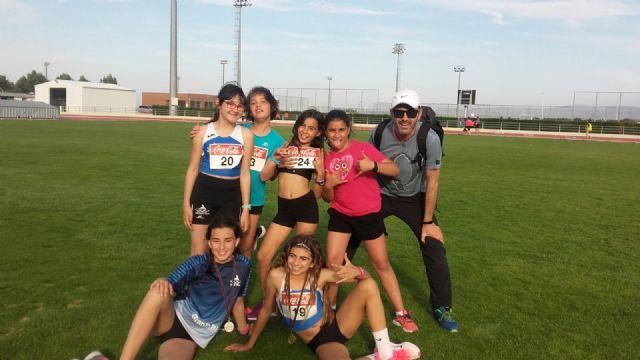El atletismo escolar de Alhama suma varias medallas en la final regional por equipos, Foto 5
