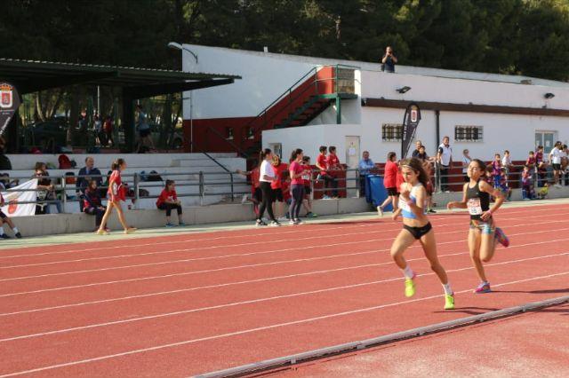 El atletismo escolar de Alhama suma varias medallas en la final regional por equipos, Foto 7