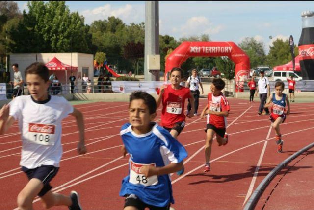 El atletismo escolar de Alhama suma varias medallas en la final regional por equipos, Foto 8