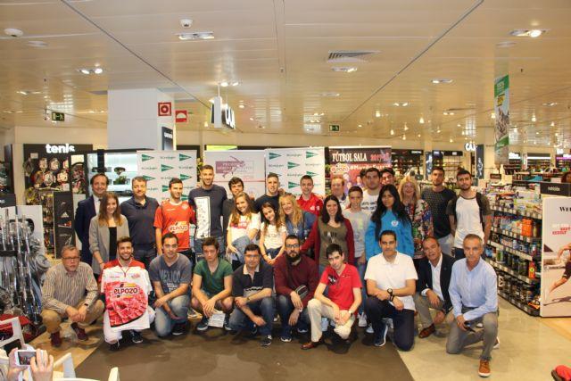 II charlas el deporte en la Región de Murcia con Pito y Fernando de ElPozo Murcia FS - 1, Foto 1